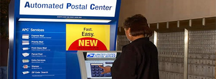 What Are Usps Self Service Kiosks My Post Office Location