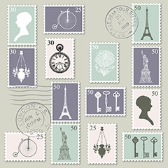 not mailing a letter lets look at stamps in other scenarios for a typical postcard a stamp costs 034 but for any larger than 6 x 4 size
