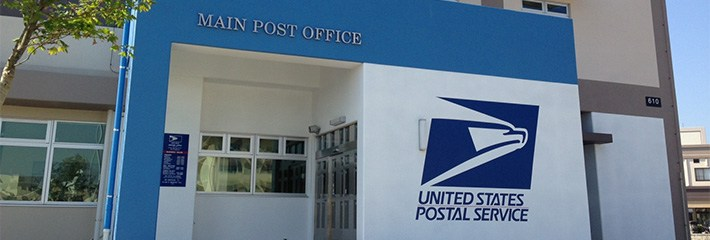 Post Office Entrance